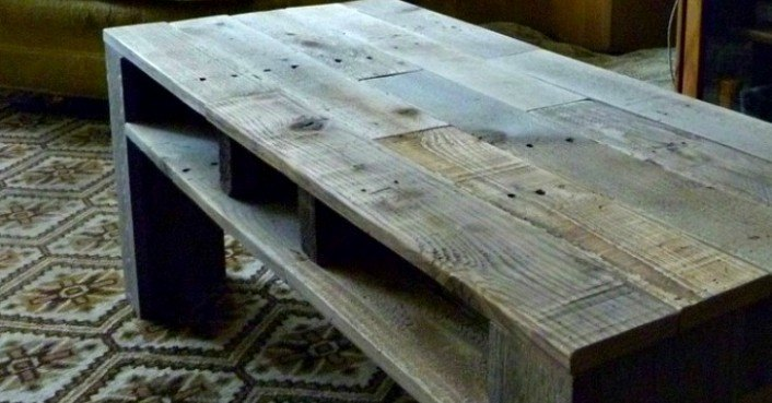 Upcycled Shipping Pallet Creations Shipping Pallet Coffee Table Inhabitat Green Design