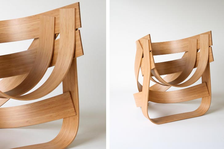 Tejo Remy And Rene Veenhuizen S Strong Flexible Bamboo Chair 2 Of 3
