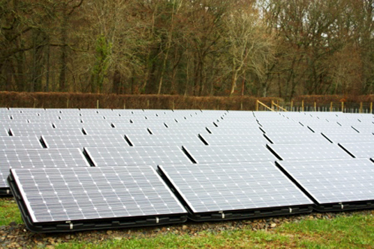 dulas, national trust, solar installation, solar power, photovoltaic installation, sustainable design, green design, alternative energy, renewable energy, green power, united kingdom, Llanerchaeron, wales