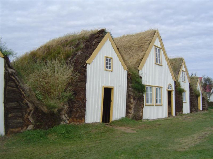Iceland S Cozy Green Roofed Turf Houses Are Countryside