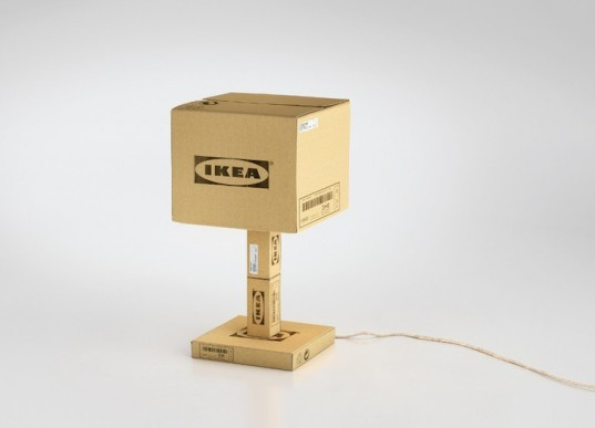Ikea transforms its flat pack cardboard packaging into for Tools to assemble ikea furniture