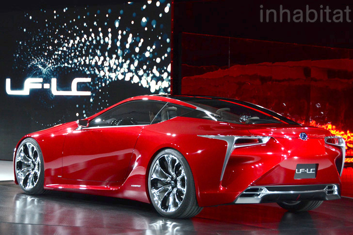 Elegant Lexus Lf Lc Hybrid « Inhabitat U2013 Green Design, Innovation, Architecture,  Green Building