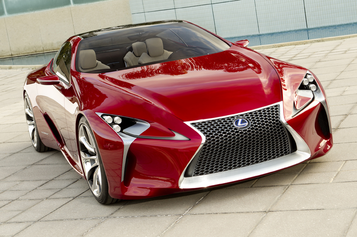 Lexus Unveils LF-LC Luxury Hybrid Sports Coupe Concept Car Before ...