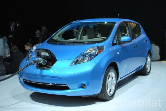 Detroit auto show, NAIAS, North American International Auto Show, Nissan, electric concept car, concept van, electric van, electric vehicle, electric truck, electric car, green transportation, alternative transportation, green automotive design, green car, green vehicle