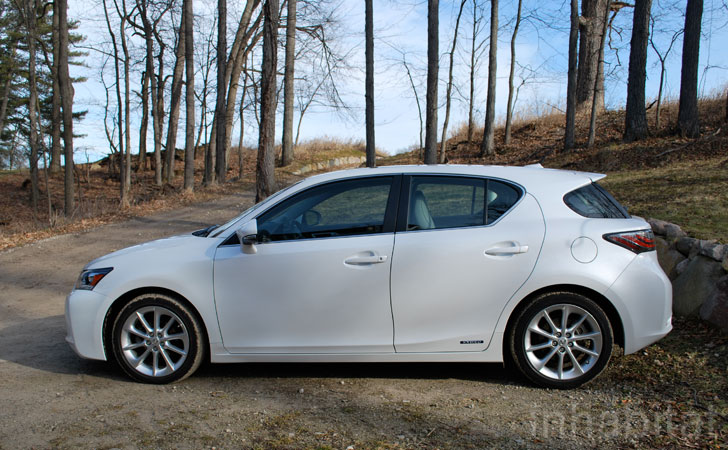 Test Drive The Lexus Ct200h Compact Hatchback Hybrid Ushers In A New Era For Luxury Hybrids
