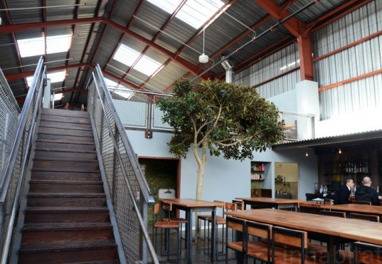 Southern Pacific Brewing, San Francisco, boor bridges architecture, green renovation, sustainable design, green design, green building, green architecture, boor bridges architecture, green bar, mission district, green brewing company, southern pacific brewing company, adaptive reuse, industrial renovation
