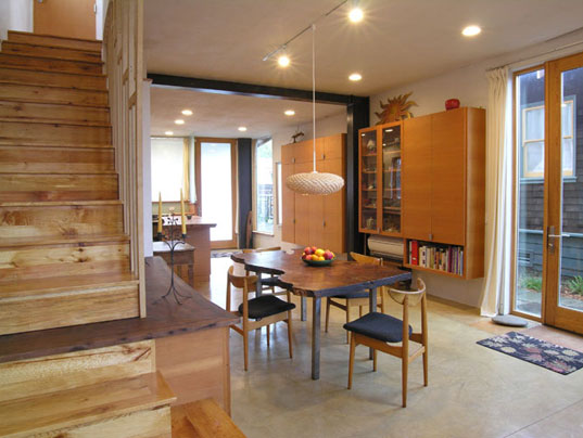 McGee House, Leger Wanaselja Architecture, Green Design, Green Architecture, Eco Architecture, Sustainable Design, Eco Design, Recycled Materials, Solar Energy, Energy Efficients, Sustainable Architecture, Salvaged Cars, Scrap Cars, Poplar Wood, Salvaged Wood, Low Toxicity