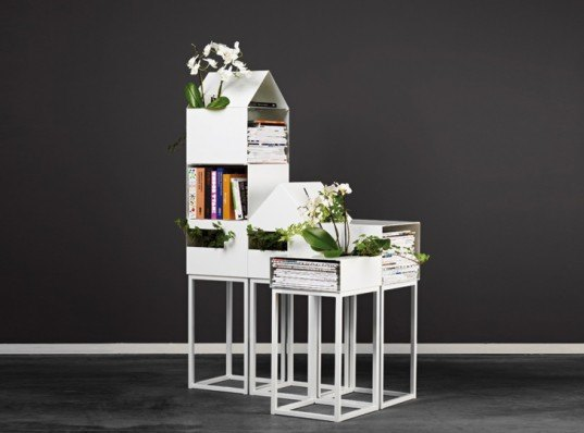 a2, a2 design, street shelves, street shelving design, stackable shelves, green furniture design, eco design, shelves for plants, swedish design