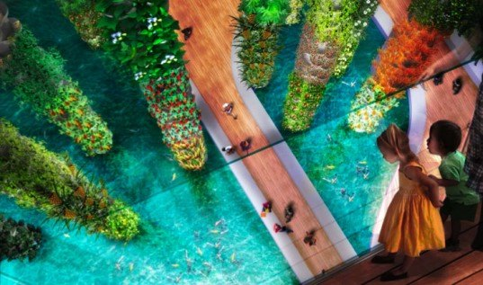 AECOM, BIG, Navy Pier, Bjarke Ingels, Chicago, parks, design competitions, green design, landscape design, green roofs, vertical farm, roof garden, green architecture, green design