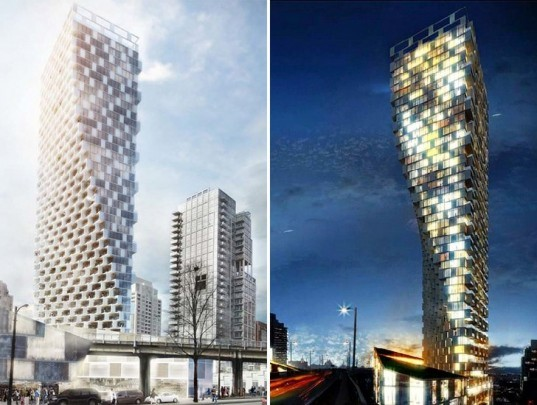 Big Unveils Plans For Its New Twisting Residential