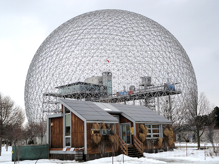 Montreal\'s Biosphere Environmental Museum Resides Inside Massive ...