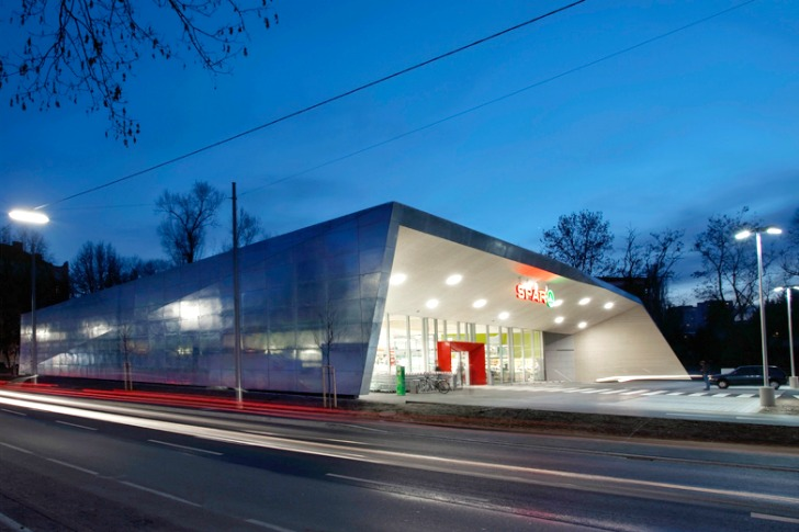 Climate Protection Supermarket Love Architecture