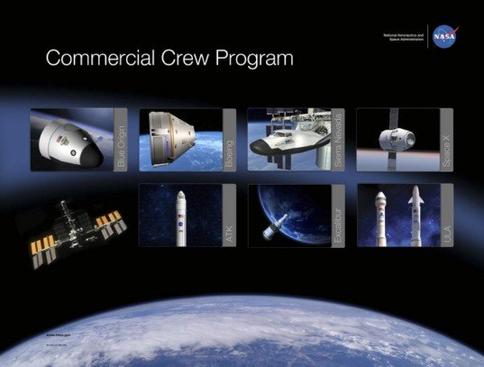 Commercial Crew Program, NASA commercial crew, NASA space taxis, NASA International Space Station, NASA space taxi proposal, commercial crew program space taxis, green transportation, sustainable design