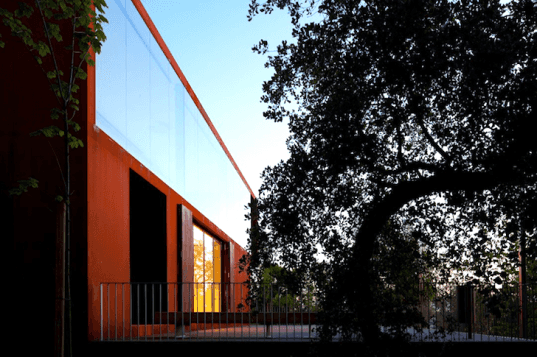Comoco, Portugal, Pombal Castle, renovation, Corten steel, timber, pavilion, pathways, hilltop castle, green design, sustainable design, eco-design, daylighting, sustainable upgrade, Pombal, history, eco-tourism