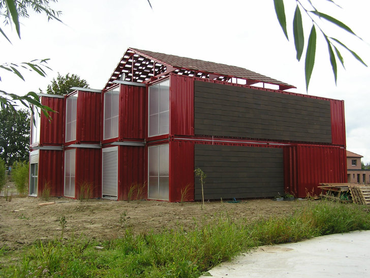 Architecte maison container cheap maison container rennes for Maison container usa