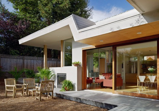 green design, eco design, sustainable design, San Francisco Bay, Feldman Architecture, 2 Bar House, Sustainable home, Green roof, photovoltaic array, roof garden
