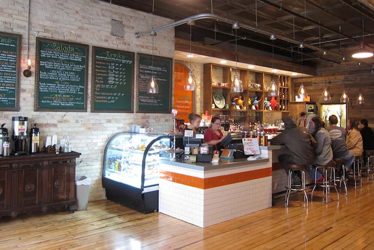 moss design recycled brew taverne and cafe in michigan