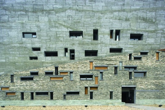 Ningbo History Museum, Wang Shu, eco museum, rubble, recycled materials, eco museum, china