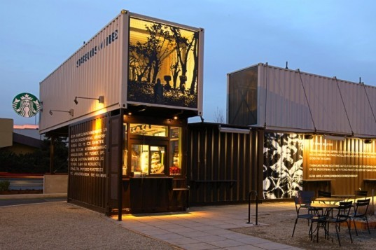 recycled materials, green design, sustainable design, junk castle, victor moore, starbucks, reclamation drive-thru, blocker mini, sweden, LEED, recycled doors, Seoul, Choi Jeong-Hwa, Burton Street, Peace Garden, Maisongomme, recycled car tires, sustainable design, eco design, 6 awesome recycled buildings