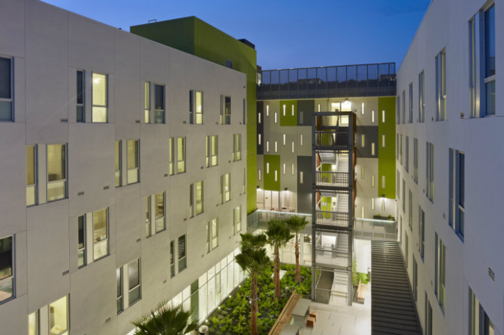 Richardson Apartments Were Designed Using The Guidelines Of Build It Green Greenpoint Rated And Communities Sustainable Features Project