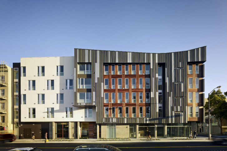 Modern Architecture San Francisco modern richardson apartments provide low income housing in the