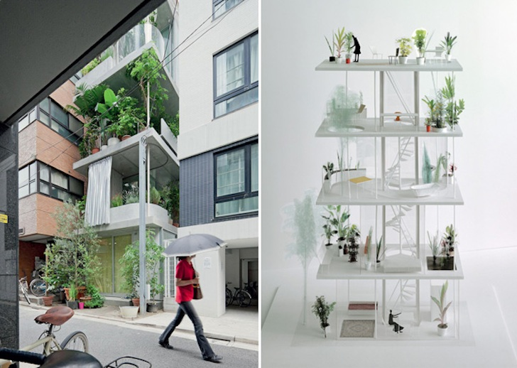 Ryue Nishiziwa\'s gorgeous vertical garden house takes root in Tokyo ...