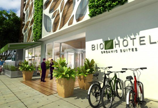 The bio hotel is a leed inspired hotel for bogot for Hotel design 100 bogota