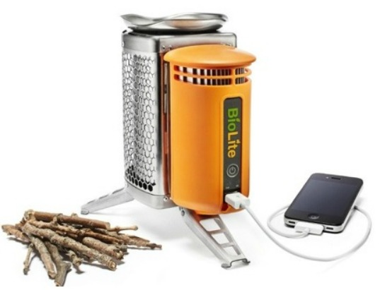 biolite camping stove, green camp stove, sustainable camp stove, green camping design, environmental product design