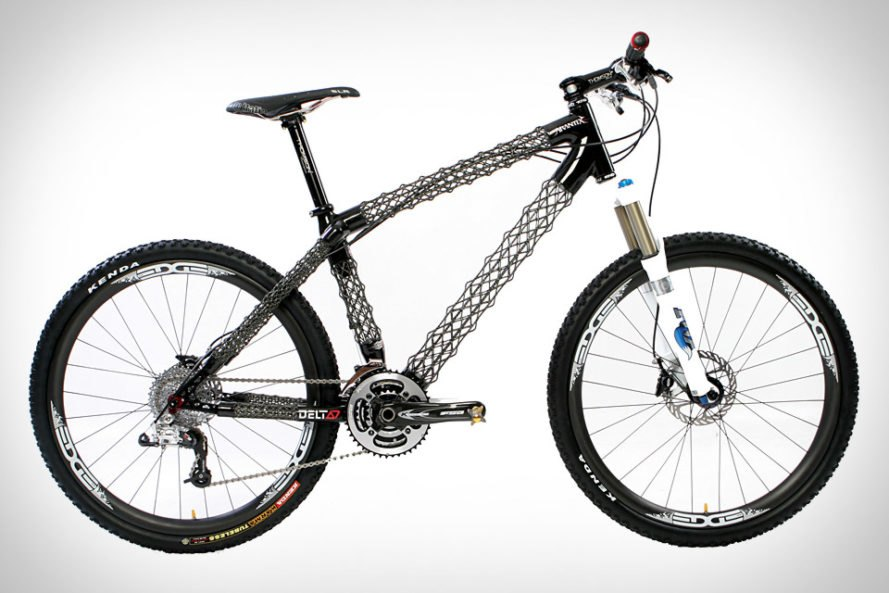 Delta 7\'s Awesome Arantix Mountain Bike Weighs Just 2.74lbs ...