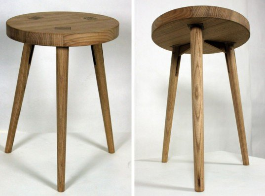 Asta Stool, Karin Ekwall, wooden stool, flat pack furniture, flat pack designs, clever furniture, wooden stools, swedish furniture