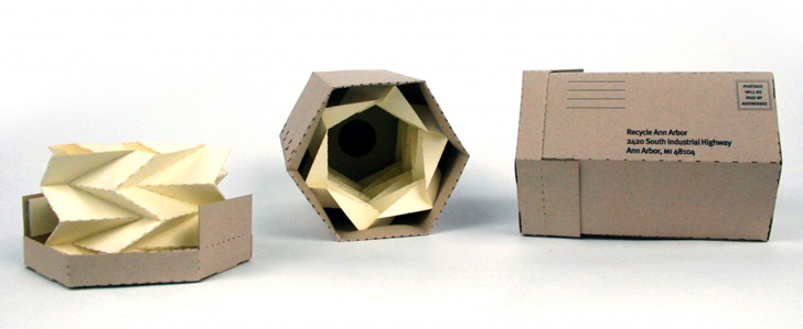Student Designer Creates More Sustainable Packaging for LED