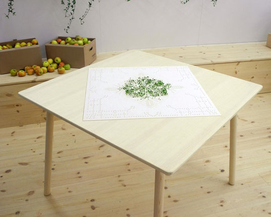 green interiors, lena louise meyer, sprout table, green design, eco design, sustainable design, swedish design, sweden, swedish sprout table, green tables, eco tables, sustainable tables, eco interiors, sustainable interiors, green furniture, eco furniture, sustainable furniture