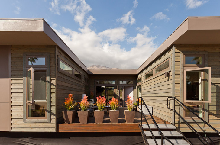 Livinghomes affordable new c6 prefab home launches in palm for Green living homes