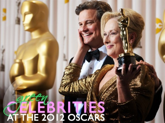84th Academy Awards, Colin Firth, Demian Bichir, eco-celebrities, eco-celebs, eco-fashion, ethical fashion, Green Carpet Challenge, green celebrities, green fashion, green Oscars, James Cameron, Kenneth Branagh,