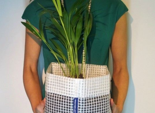 mind the plant, recycled planters, recycled materials, green planters, planters, eco design, green design, sustainable design, green products, gardening, eco friendly planters