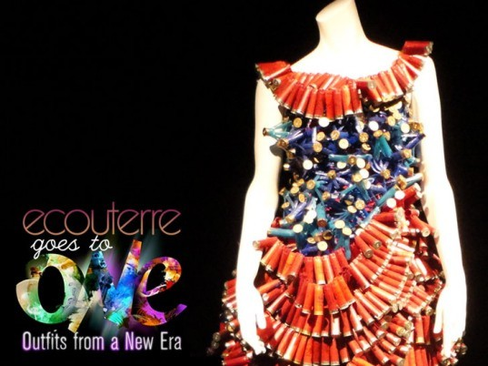O.N.E. Outfits from a New Era, Montreal Biosphere, Marie Line, Chlose B. Fortin, Paco Rabanne, Maude Lapierre, Melissa Turgeon, Jennifer Bergeron, eco-fashion, sustainable fashion, green f