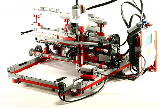 Incredible LEGO Printer Invented by 14-Year-Old Boy!