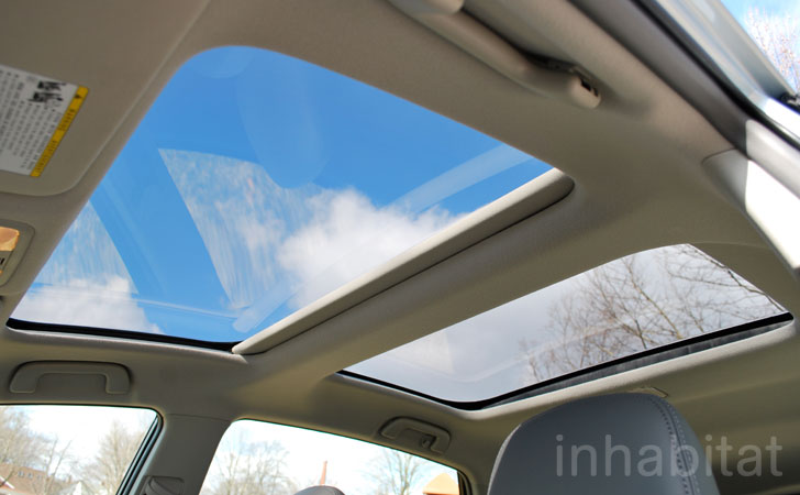 Test Drive Inhabitat Takes The Roomier Toyota Prius V For A Spin