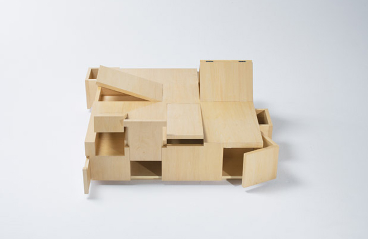 Secret Compartment Table « Inhabitat U2013 Green Design, Innovation,  Architecture, Green Building