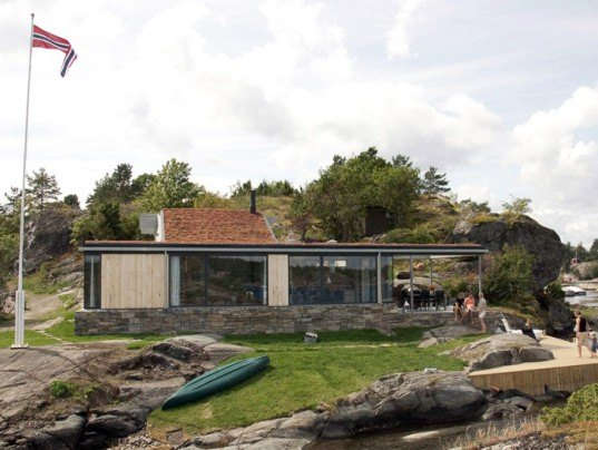 Norway Green Home, Small Home, Living Roof Homes, Natural Home, Green Summer House, Green Roof, sustainable design, green design, green building, sustainable architecture, sustainable building