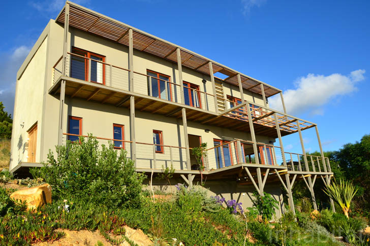South africa s first hemp house goes greener with a for What goes into building a house