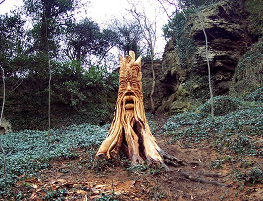 An Enchanted Forest of Carved Tree Stump Creatures Sprouts in the UK |  Inhabitat - Green Design, Innovation, Architecture, Green Building