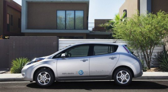 California, electric car, electric car charging stations, electric vehicle, Governor Brown, green car, Nissan, plug-in hybrid, zero emissions