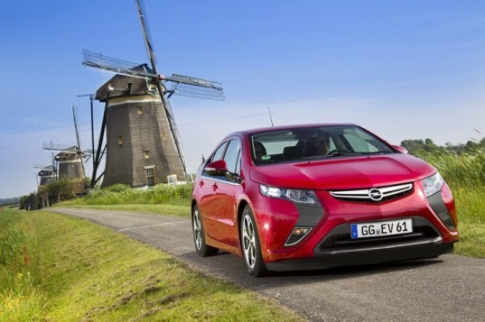 Opel, Opel Ampera, GM, Chevy, Chevy Volt, plug-in hybrid, green transportation, green car