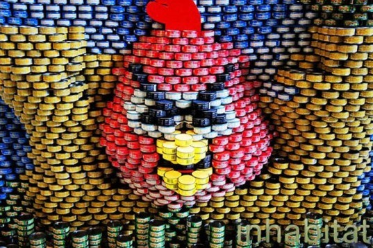 Skidmore Owings and Merrill, Eleanor Roosvelt High School, NYC, Canstruction, canned food, building blocks