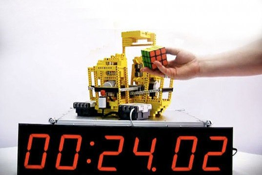 David Gilday, ARM, LED display, Droid phone, Rubiks Cubes, LEGO Robot
