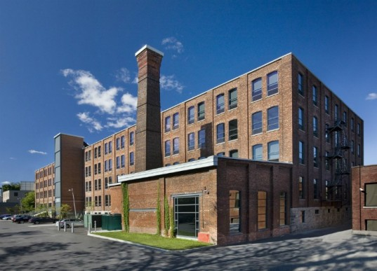 6 amazing green renovations that turn industrial buildings for Factory building design