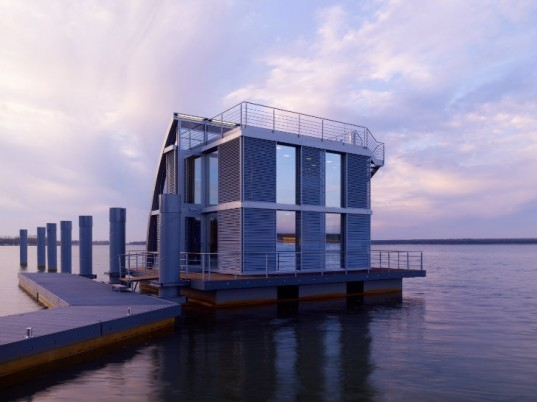 Ar-Che Aqua Floathome, Steeltec37, floating houses, floating home, germany, lausitz resort,