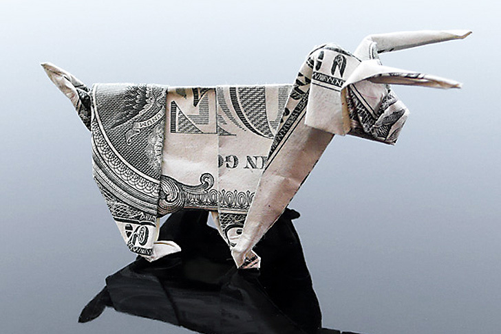 Dollar Bill Origami DOG, EASY instructions on how to fold a dog ... | 486x728