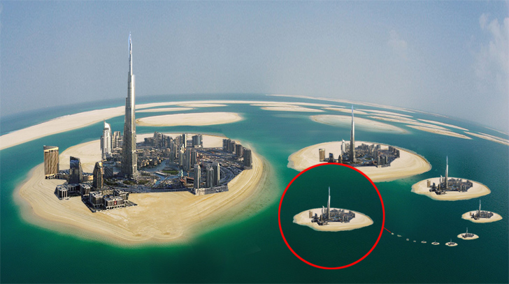 Satellite Photos Reveal That Dubai Is Building A Series Of